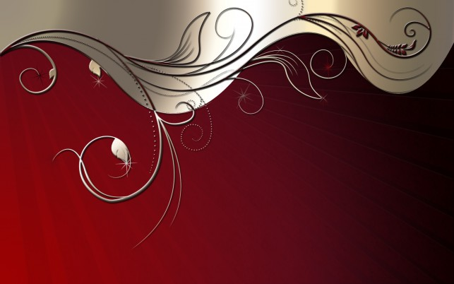Ornament, red, windows, abstract wallpapers and stock photos