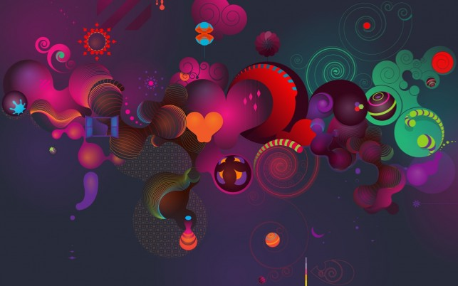 For Windows 7,  abstract, colourful wallpapers and stock photos