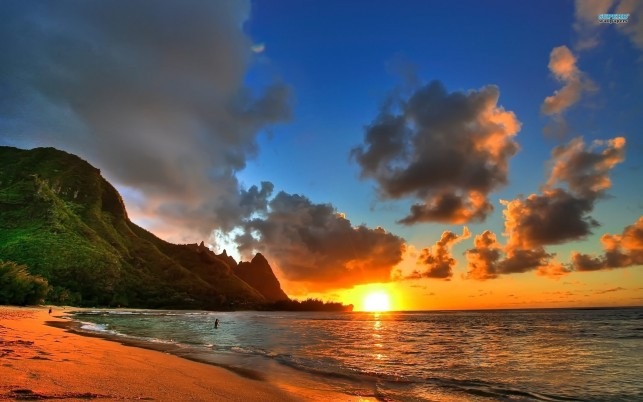 Kauai, usa, hawaii, summer, beach, beaches wallpapers and stock photos