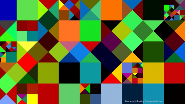 Colourful squares, abstract wallpapers and stock photos