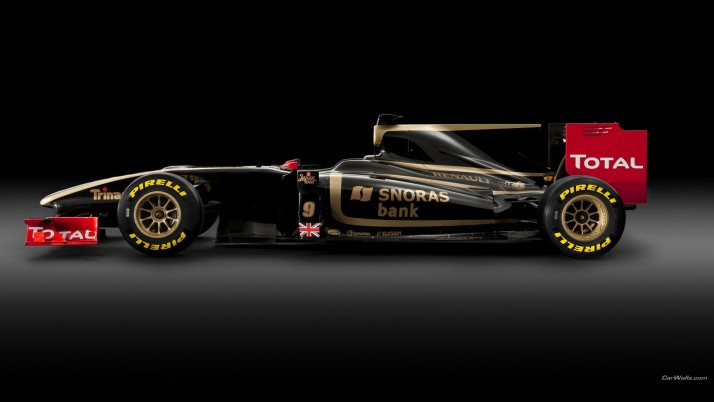 Next: F1 Lotus Renault