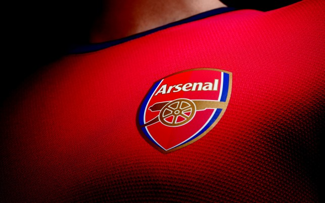 Arsenal-Spieler, Trikot, Logo wallpapers and stock photos