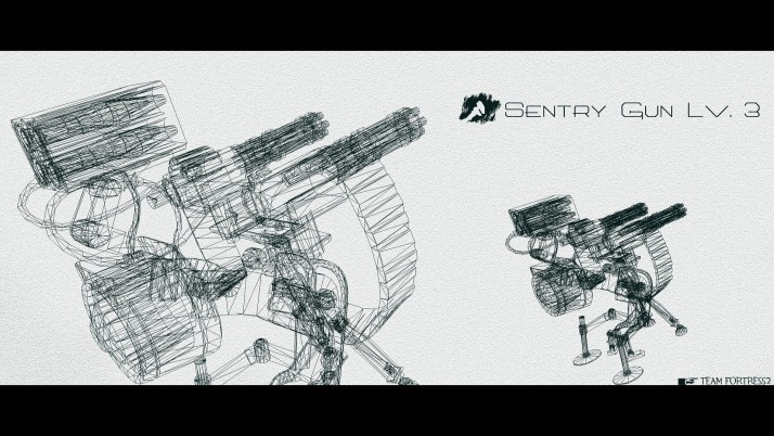 Sentry Gun, photo, photos, walls wallpapers and stock photos
