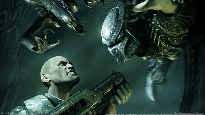 Alien Vs Predator, extraterrestres, consola, juegos wallpapers and stock photos