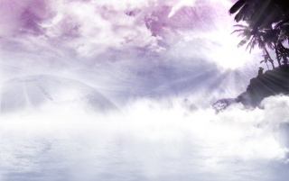 Purple Fog wallpapers and stock photos