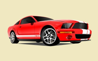 Ford Cobra GT 500 wallpapers and stock photos