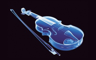 Neon Violin wallpapers and stock photos