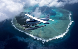 Over Palau Islands wallpapers and stock photos