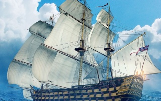 Oceanic Voyage wallpapers and stock photos