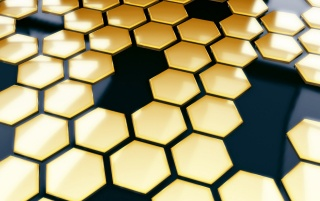 Honeycomb Mosaic wallpapers and stock photos