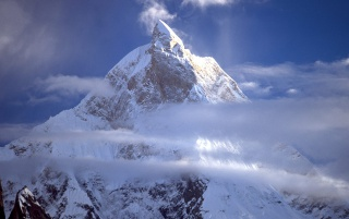 Masherbrum Peak wallpapers and stock photos