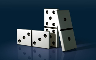 Domino Pieces wallpapers and stock photos