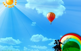 Balloon wallpapers and stock photos