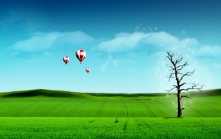 Sky Balloon wallpapers and stock photos