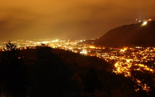 Brasov Night wallpapers and stock photos