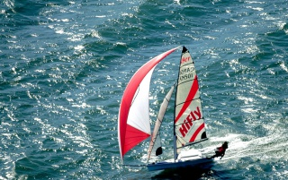Olympic Class 49er wallpapers and stock photos