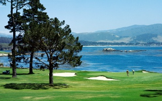 Pebble Beach wallpapers and stock photos