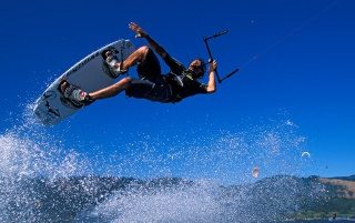 Pro Kiteboarder wallpapers and stock photos