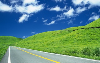 Green Pass Road wallpapers and stock photos