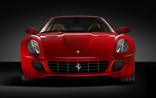 599 GTB Front wallpapers and stock photos