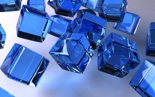 Random: The Blue Cubes