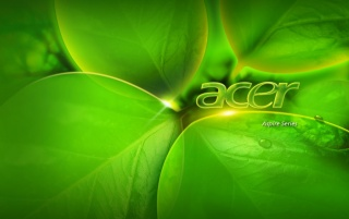 Acer Green Aspire wallpapers and stock photos