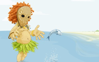 Oscar the Fisherman wallpapers and stock photos