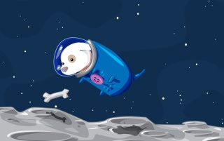 Space Doggy wallpapers and stock photos