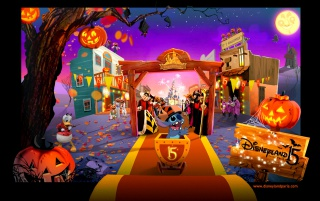 Disney Halloween wallpapers and stock photos