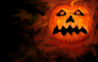 Pumpkin of Despair wallpapers and stock photos