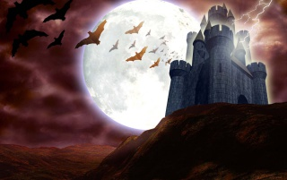 Haunted Castle wallpapers and stock photos