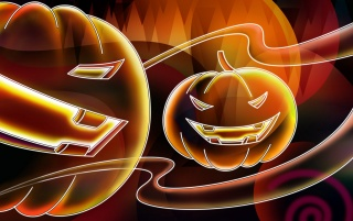 Neon Halloween wallpapers and stock photos