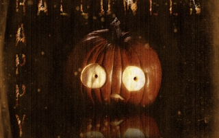 Scared Pumpkin wallpapers and stock photos