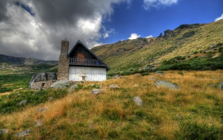 Mountain House wallpapers and stock photos