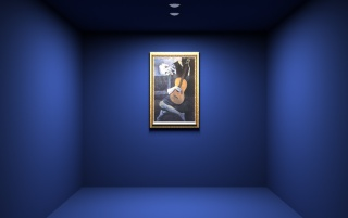 Random: Blue Room Painting