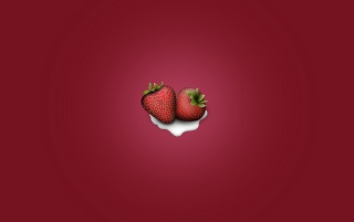 Strawberries&Cream wallpapers and stock photos