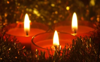 Christmas Candles wallpapers and stock photos
