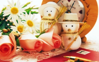 Snowman Toys wallpapers and stock photos