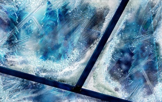 Details for the 'Frozen Window' stock photo, free image