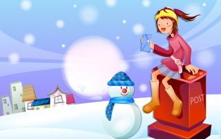 Winter Buddy wallpapers and stock photos