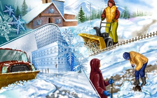 Winter Holliday wallpapers and stock photos