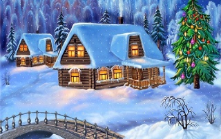 Home Christmas wallpapers and stock photos