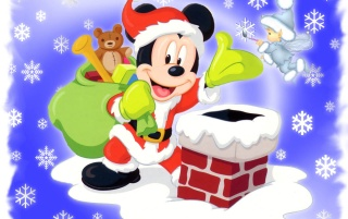 Mickey Mouse Santa wallpapers and stock photos