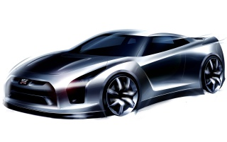 Nissan GT-R Proto wallpapers and stock photos
