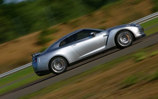 Nissan GT Side wallpapers and stock photos