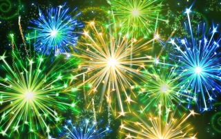 Color Fireworks wallpapers and stock photos