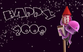 Happy 2008 wallpapers and stock photos