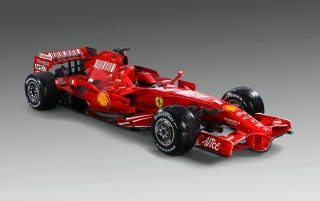 Ferarri F2008 Profile wallpapers and stock photos
