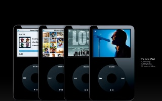 New iPod black wallpapers and stock photos