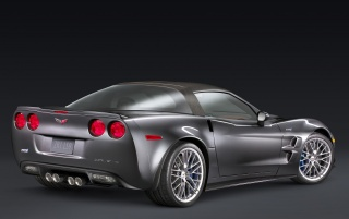 Corvette 08 Rear wallpapers and stock photos